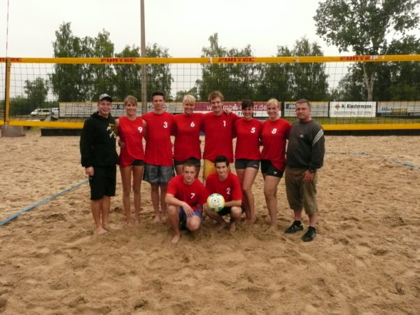 Landessieger Beach-Volleyball    Velten 25.06.2009