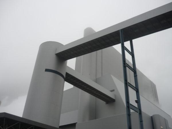 Das Braunkohlekraftwerk in dem Ort Schwarze Pumpe