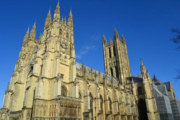 Die Kathedrale von Canterbury