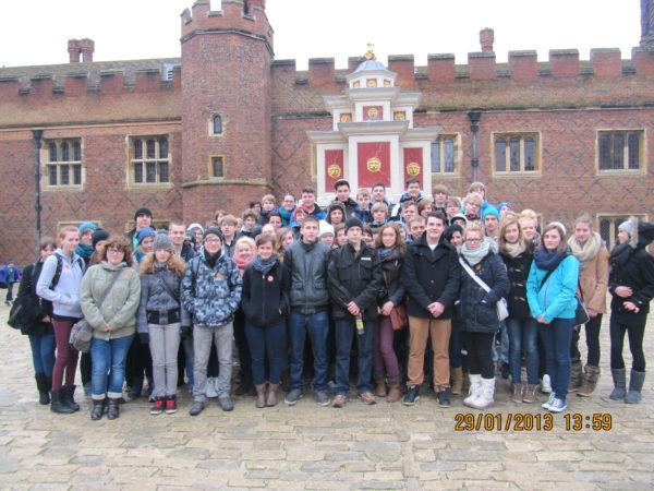 Die Teilnehmer der Londonfahrt