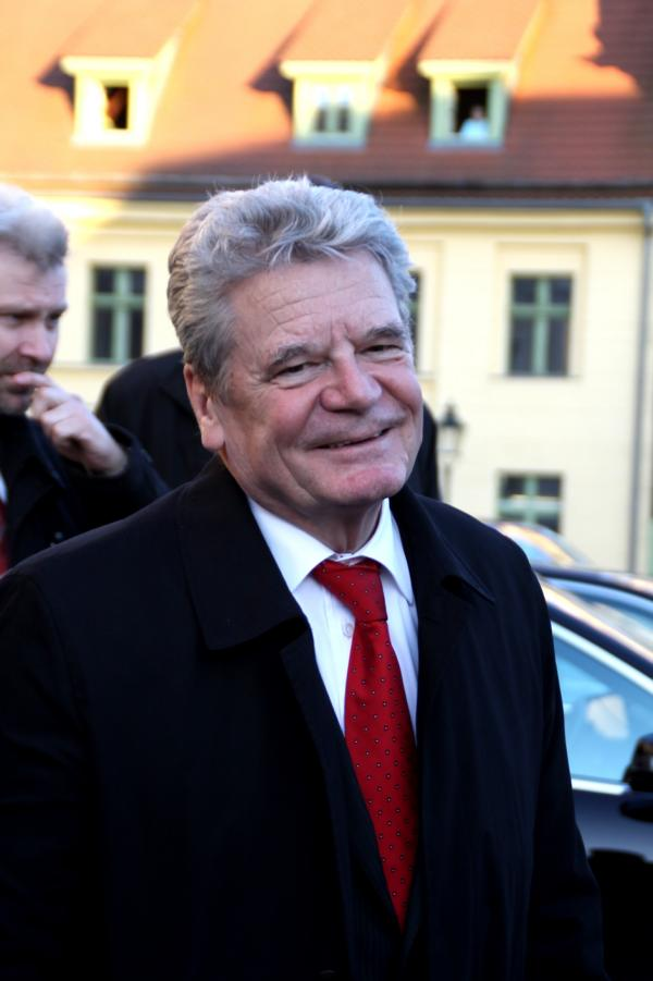 Ein Portraitfoto des Bundespräsidenten Joachim Gauck