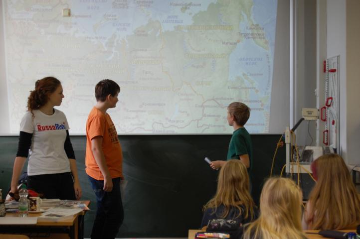 Schüler präsentieren ihr Wissen