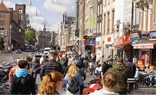 Unser erster Einblick in Amsterdam