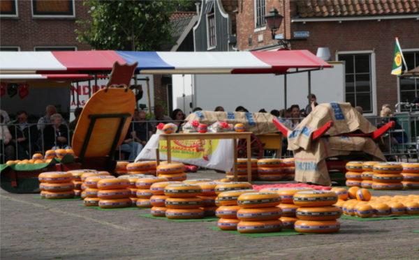 Einblick in den Käsemarkt