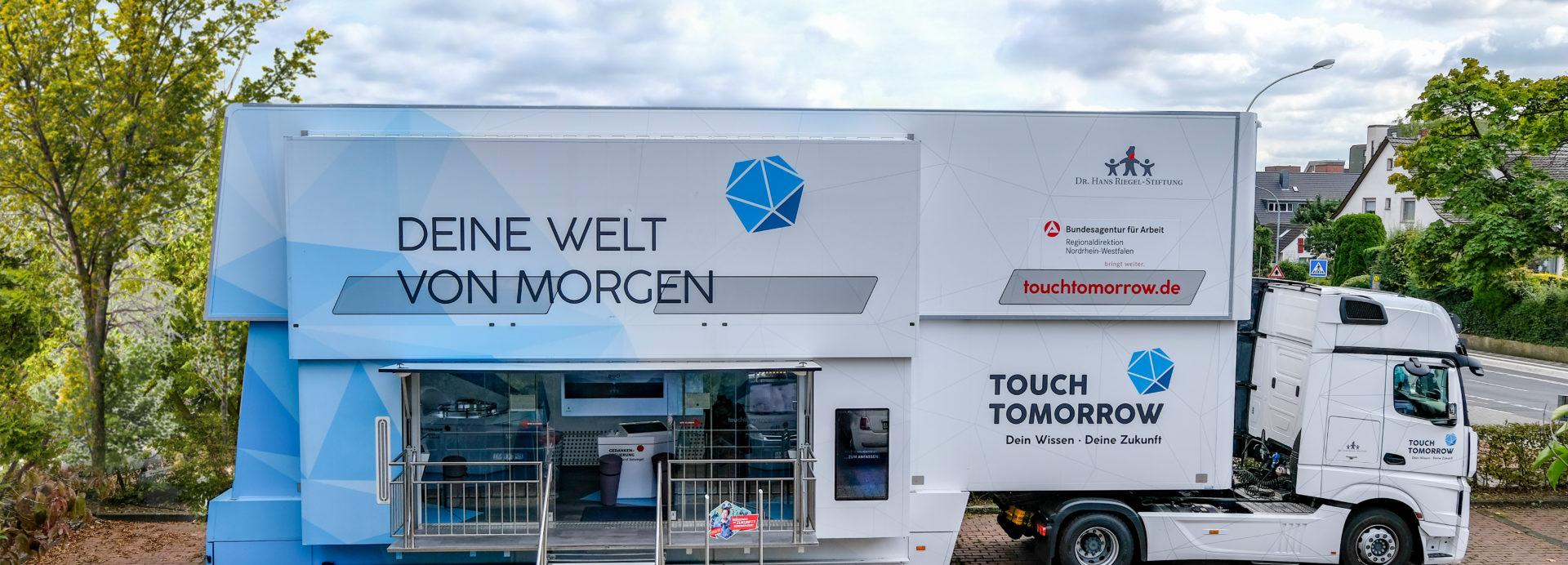 TouchTomorrow-Truck kommt (27.11. – 03.12.2020)